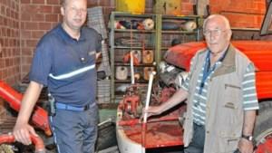 Dieven breken koper van brandweerwagen