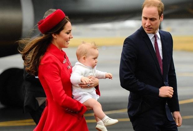 Prins George kan al stappen