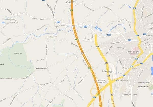 Zware verkeershinder op E19 in Nijvel richting Brussel door ongeval