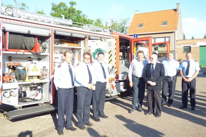 Nieuwe brandweerwagen voor Stabroek