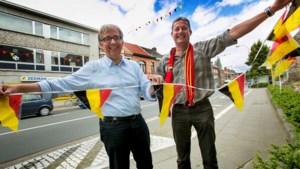 Gemeente hangt zelf 580 meter vlaggetjes
