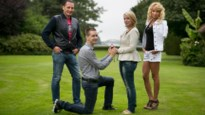 Huwelijksaanzoek in tuin Harry en Olga