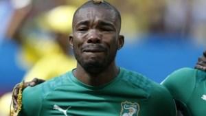Ivoriaan die huilde tijdens volkslied: