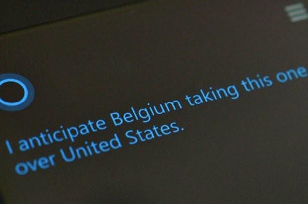 Microsoft voorspelt winst België tegen VS op WK
