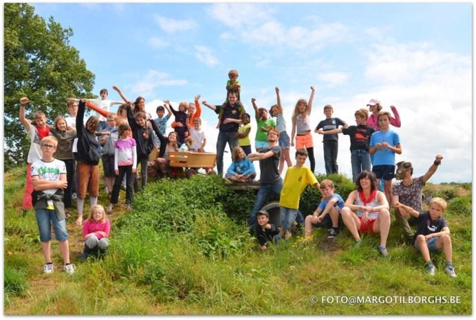 Kinderen en jongeren met én zonder beperking op zomerkamp in Essen
