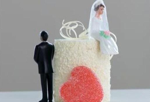 Taart viert het einde van je huwelijk