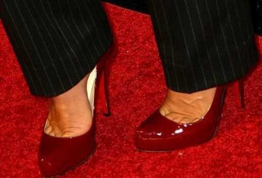 Rode schoenen zijn onweerstaanbaar