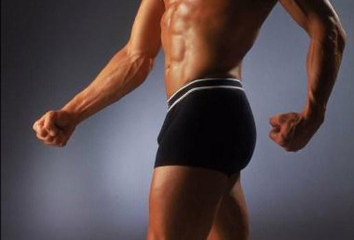 Boxer voor linkshandige mannen