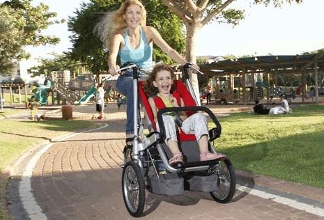 Mama's kunnen buggy en fiets in één kopen