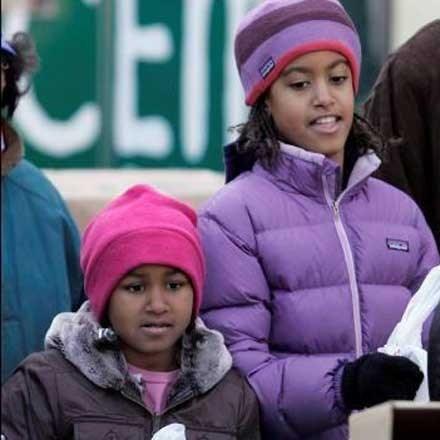 Kinderen Obama moeten zelf bed opmaken