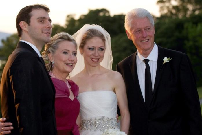 Chelsea Clinton gehuwd met vriend Marc