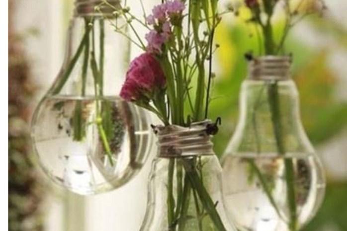 Creatieve recyclage: geef je oude lampen een nieuw leven